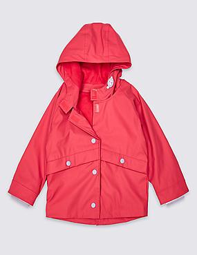 Easy Dressing Fisherman Coat (3 Months - 7 Years)