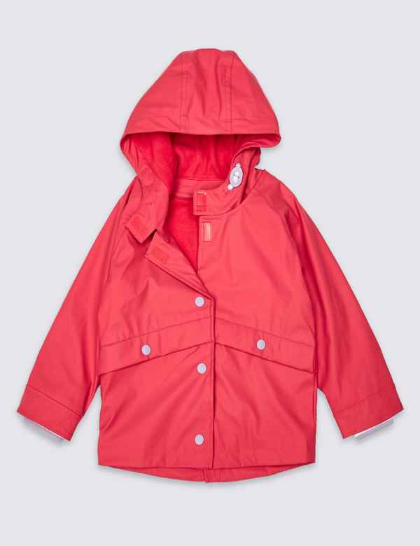 Girls' Clothing (newborn-5t) Jacket Jacket Blue Seven Baby Girl Hood Pink Zip 2 7 Anni Clothing, Shoes & Accessories