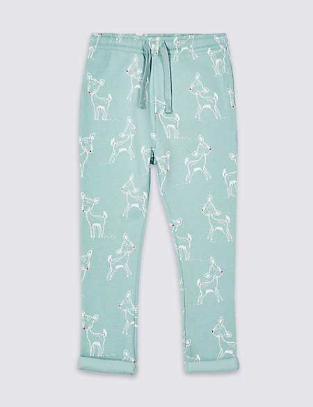 Cotton Rich Joggers (3 Months - 7 Years)