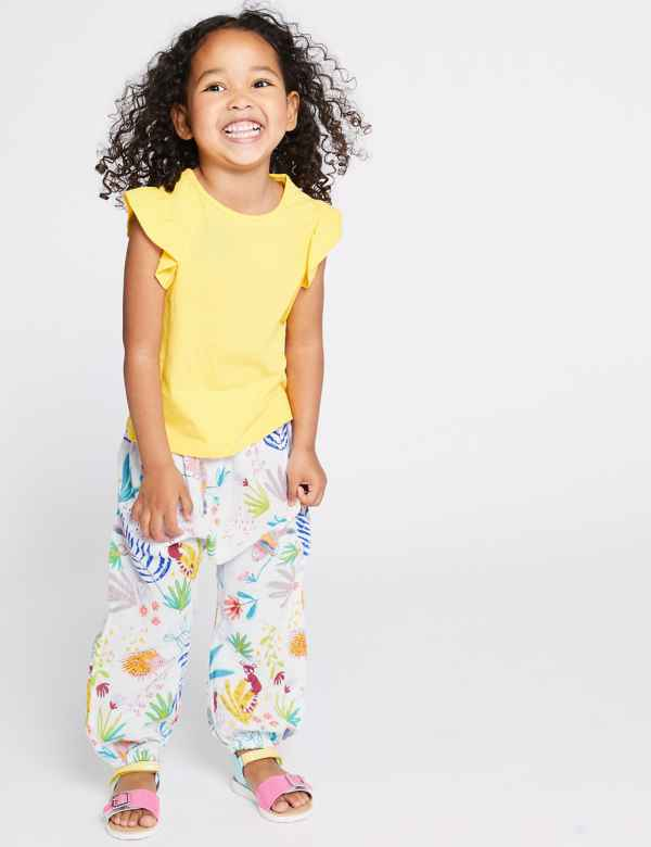 3ee924917a Pure Cotton Printed Trousers (3 Months - 7 Years)