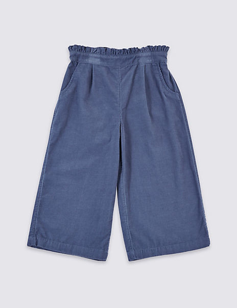 Pure Cotton Paper Bag Culottes (3 Months - 7 Years)