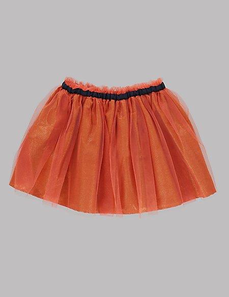 Metallic Effect Tutu A-Line Skirt (1-7 Years)