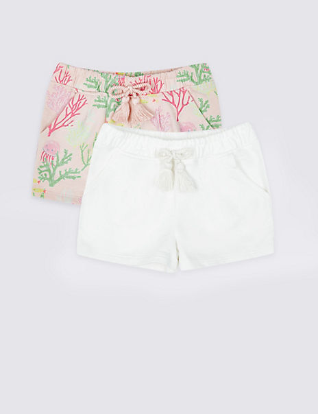 2 Pack Shorts (3 Months - 7 Years)