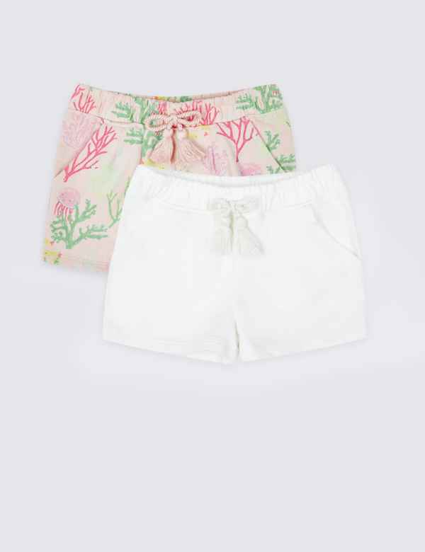 d294a0f784311 Shorts | Girls Clothes - Little Girls Designer Clothing Online | M&S