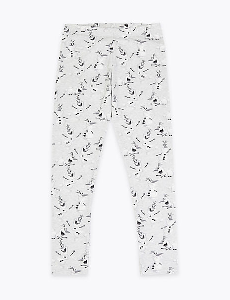 Disney Frozen 2 Olaf Cotton Leggings (2-10 Years)