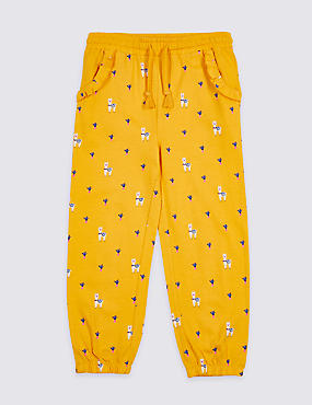 Pure Cotton Trousers (3 Months - 7 Years)