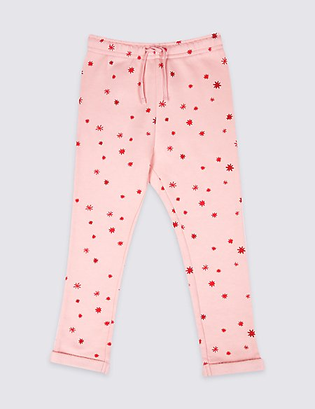 Cotton Rich Star Joggers (3 Months - 7 Years)