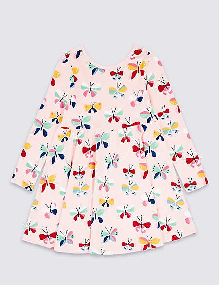 All Over Print Dress (3 Months - 7 Years)