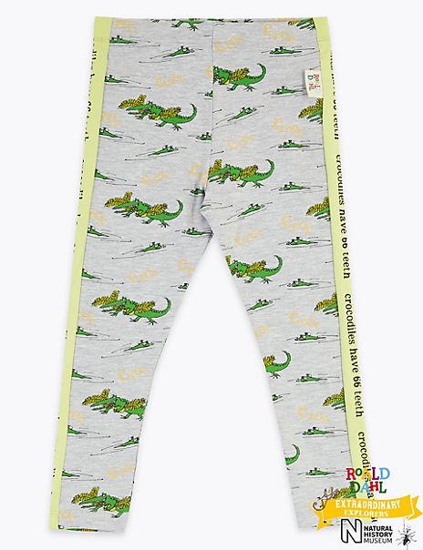 Roald Dahl™ & NHM™ Crocodile Leggings (2-7 Years)
