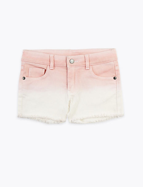 Denim Ombre Shorts (2-7 Years)