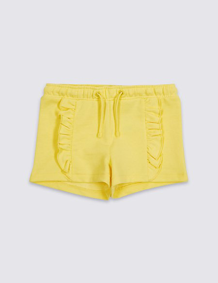 Cotton Rich Frill Shorts (3 Months - 7 Years)