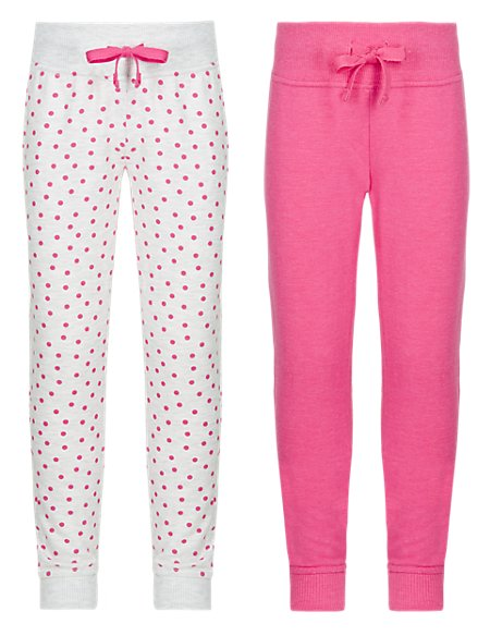 2 Pack Assorted Joggers with StayNEW™ (1-7 Years)