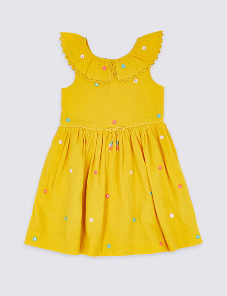 Pure Cotton Dress (3 Months - 7 Years)