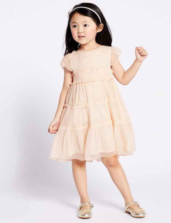7121b37ea18 Tiered Dress (3 Months - 7 Years)