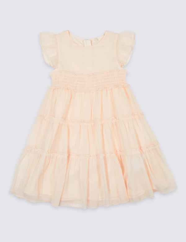 f5ed2857b7a3 Tiered Dress (3 Months - 7 Years)