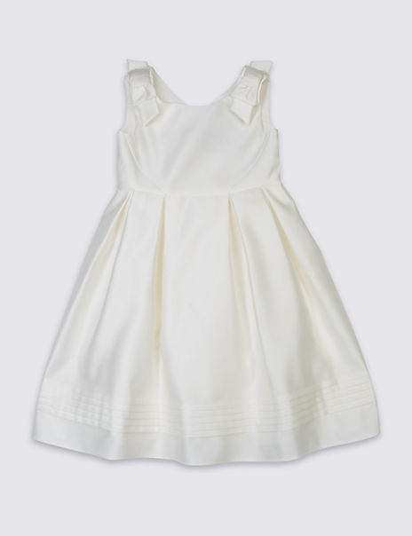 Shoulder Bow Dress (5-14 Years)