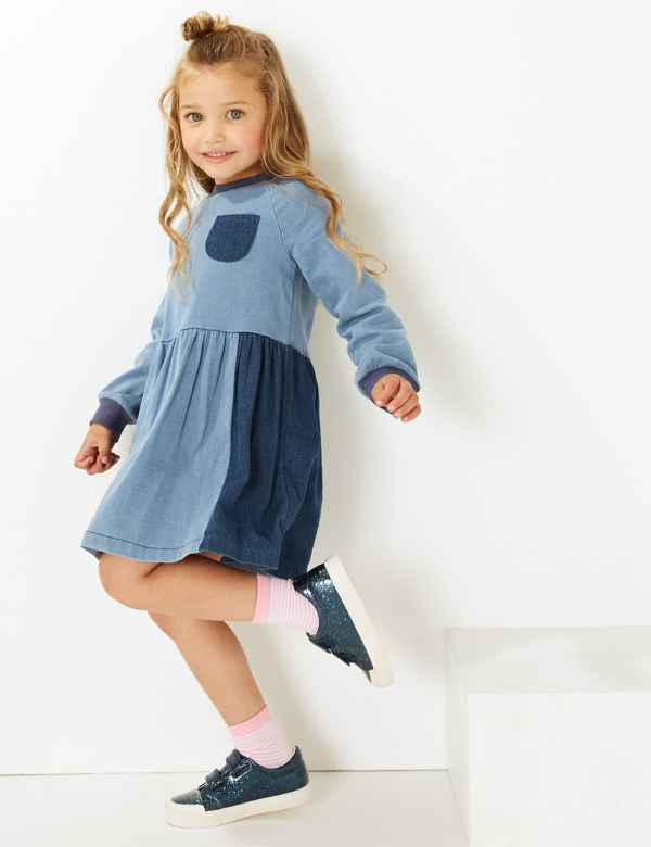 bb5308dcc251 Girls Clothes - Little Girls Designer Clothing Online | M&S