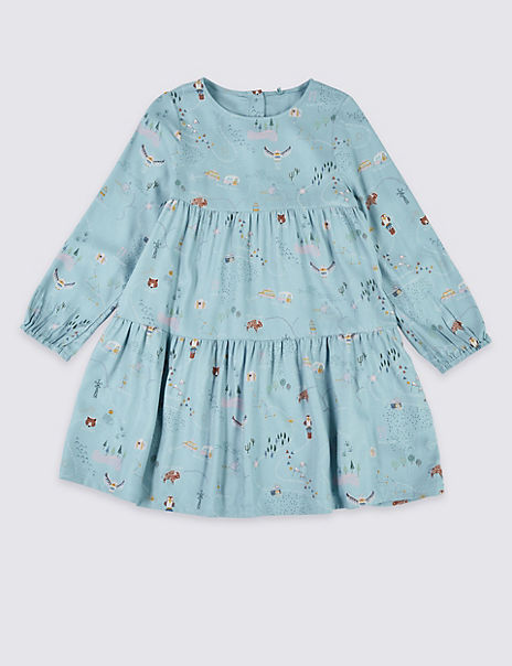 Countryside Print Dress (3 Months - 7 Years)