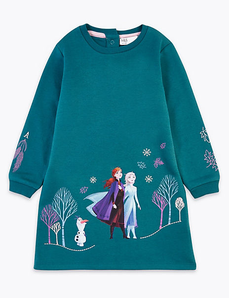 Disney Frozen™ 2 Cotton Sweater Dress (2-10 Years)