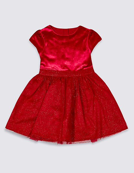 Sparkle Prom Dress (3 Months - 7 Years)