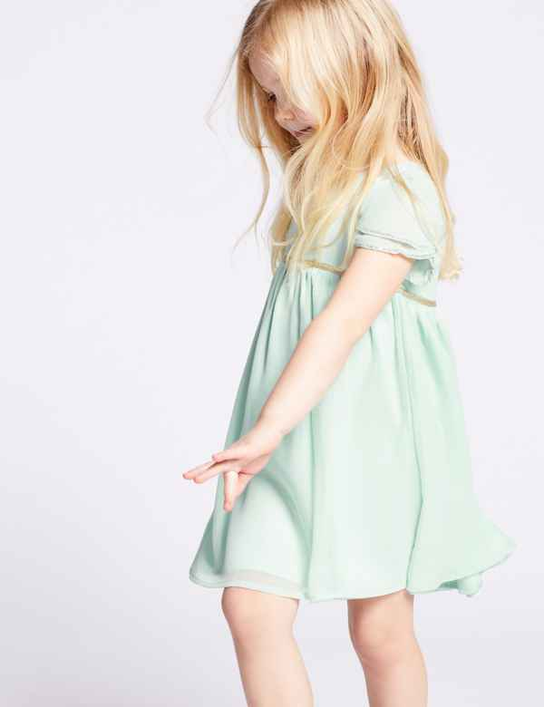 e10d4aebe2 Tulip Sleeve Dress (3 Months - 7 Years)