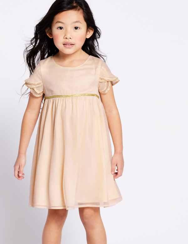 23e5b49a2de55 Tulip Sleeve Dress (3 Months - 7 Years)