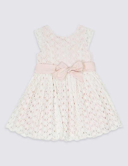 Cotton Rich Lace Prom Dress (3 Months - 7 Years)