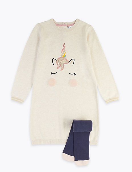 Unicorn Outfit (3 Months - 7 Years)