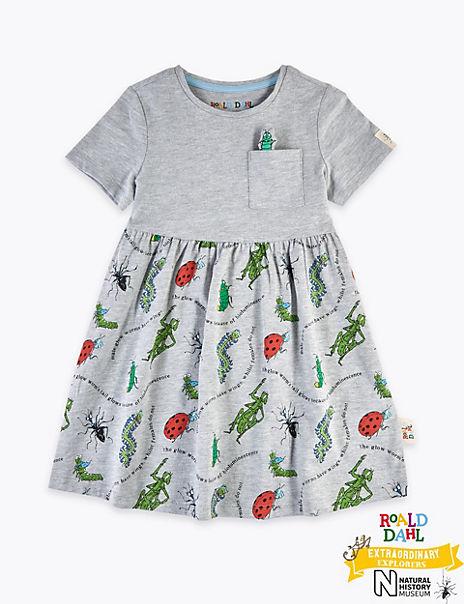 Roald Dahl™ & NHM™ Bug Dress (2-7 Years)