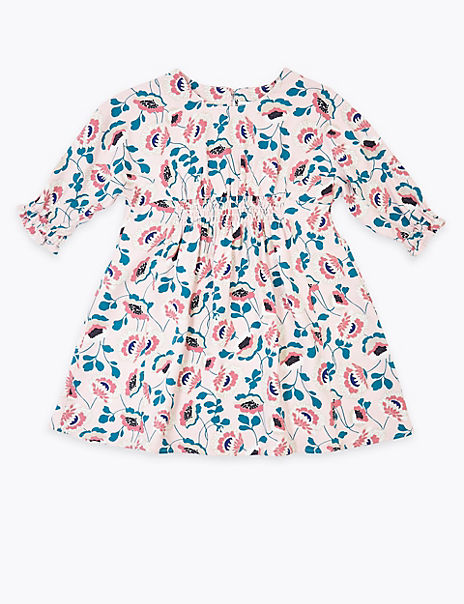 Mini Me Floral Dress (2-7 Years)