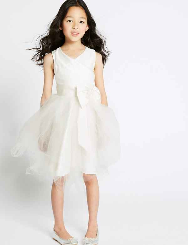 f148a9d3b85c Tulle Bow Dress (1-16 Years)