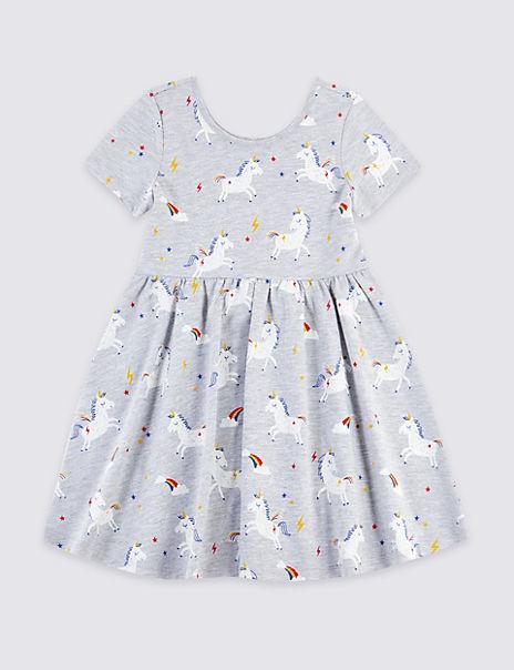 Unicorn Dress (3 Months - 7 Years)