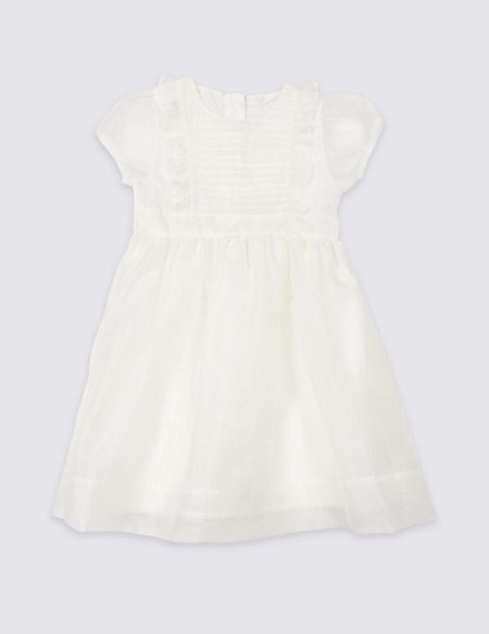 Frill Front Dress (1-7 Years)