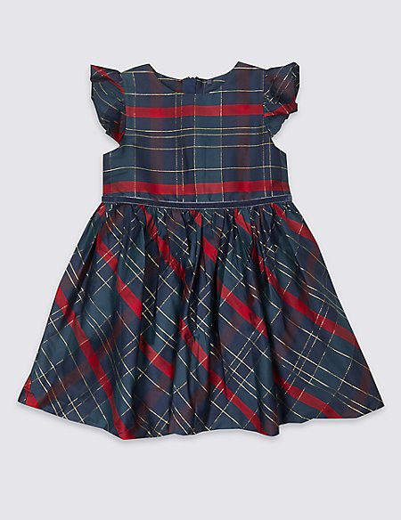 Checked Prom Dress (3 Months - 7 Years)