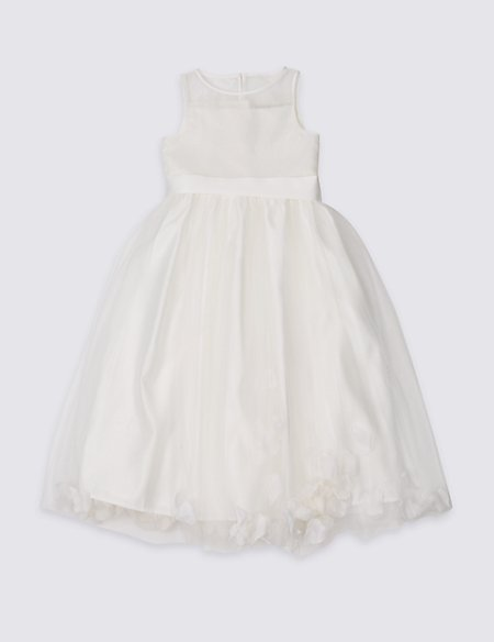 Longer Length Petal Hem Dress (1-16 Years)