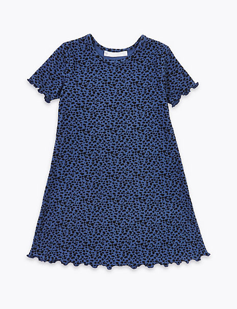 Animal Print Dress (2-7 Years)