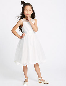 Petal Hem Dress (1 - 10 Years)