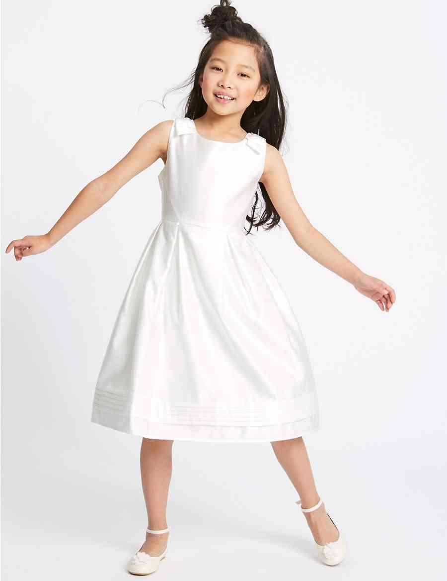 2423fb8049111 Satin Bow Dress (1-16 Years)