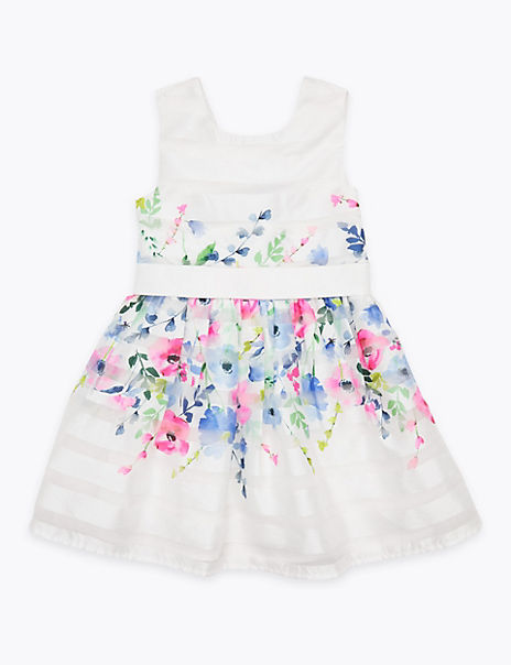 Organza Floral Dress (2-7 Years)