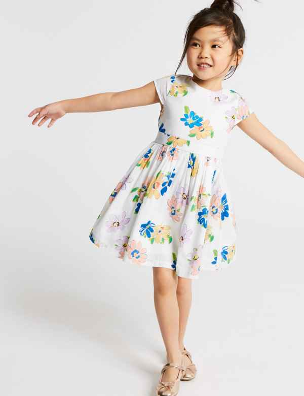 55f1abf6c05e All Over Print Prom Dress (3 Months - 7 Years)