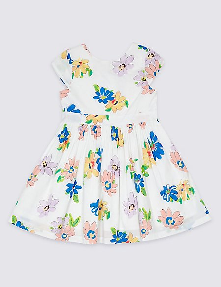 All Over Print Prom Dress (3 Months - 7 Years)