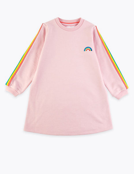 Rainbow Sweat Dress (2-7 Years)