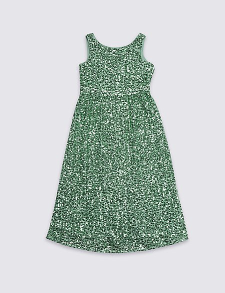 Sequin Maxi Dress (3-16 Years)