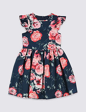 Floral Print Dress (3 Months - 7 Years)