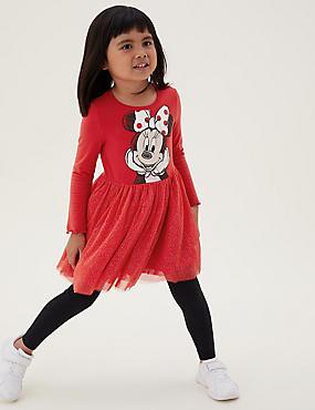 Katoenen jurk met Minnie Mouse™-motief (2-7 jaar)