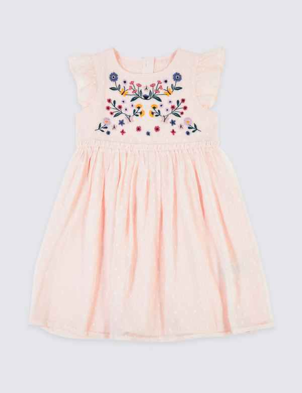 3ab93b9e3ffc0 Chiffon Embroidered Dress (3 Months - 7 Years)