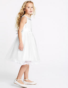 Petal Hem Dress (1-16 Years)
