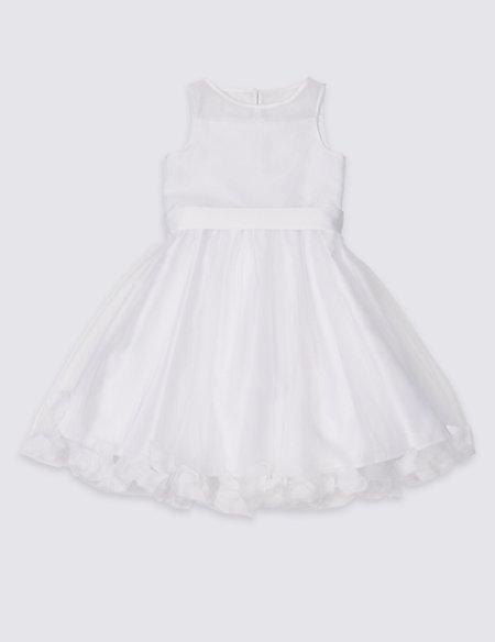 Petal Hem Dress (1-16 Years)