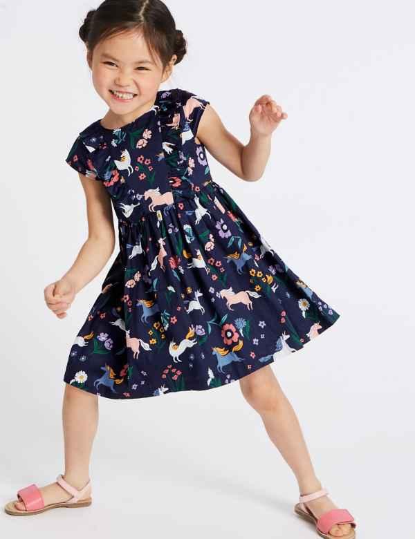 f1f112983c66ce Girls Clothes - Little Girls Designer Clothing Online | M&S