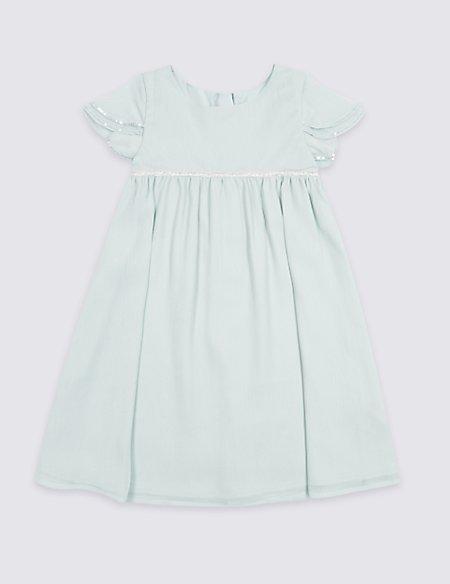 Chiffon Dress (1-7 Years)